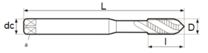 Tarod DIN 371 R15-C